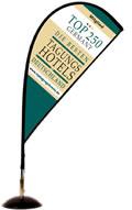 Toptagungshotels Tischflag