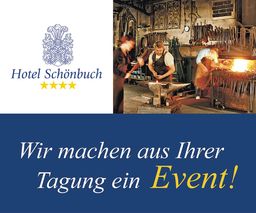 Anzeige Hotel Schönbuch