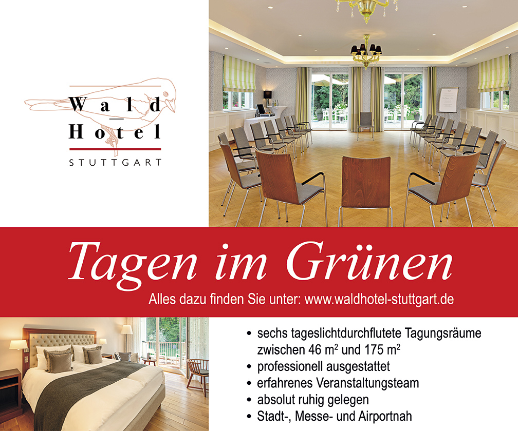 Anzeige Waldhotel Stuttgart 2020