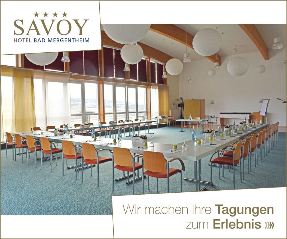 Anzeige Savoy Bad Mergentheim 2021/06