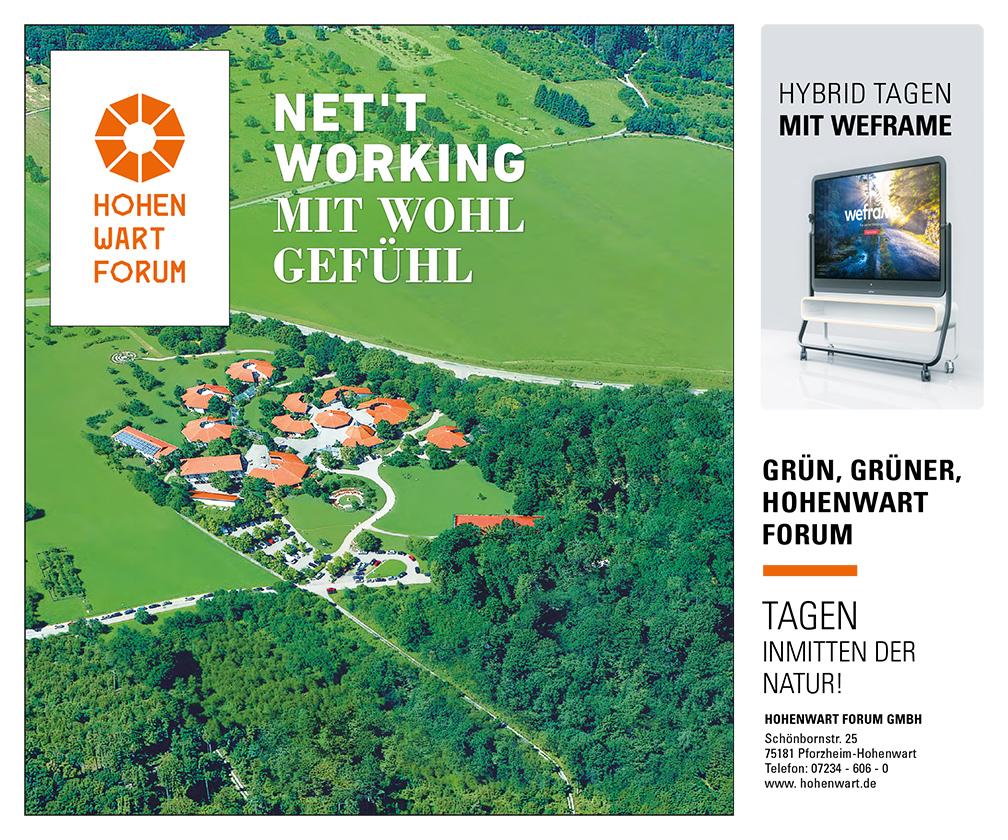 Anzeige Hohewart Forum 2021/06