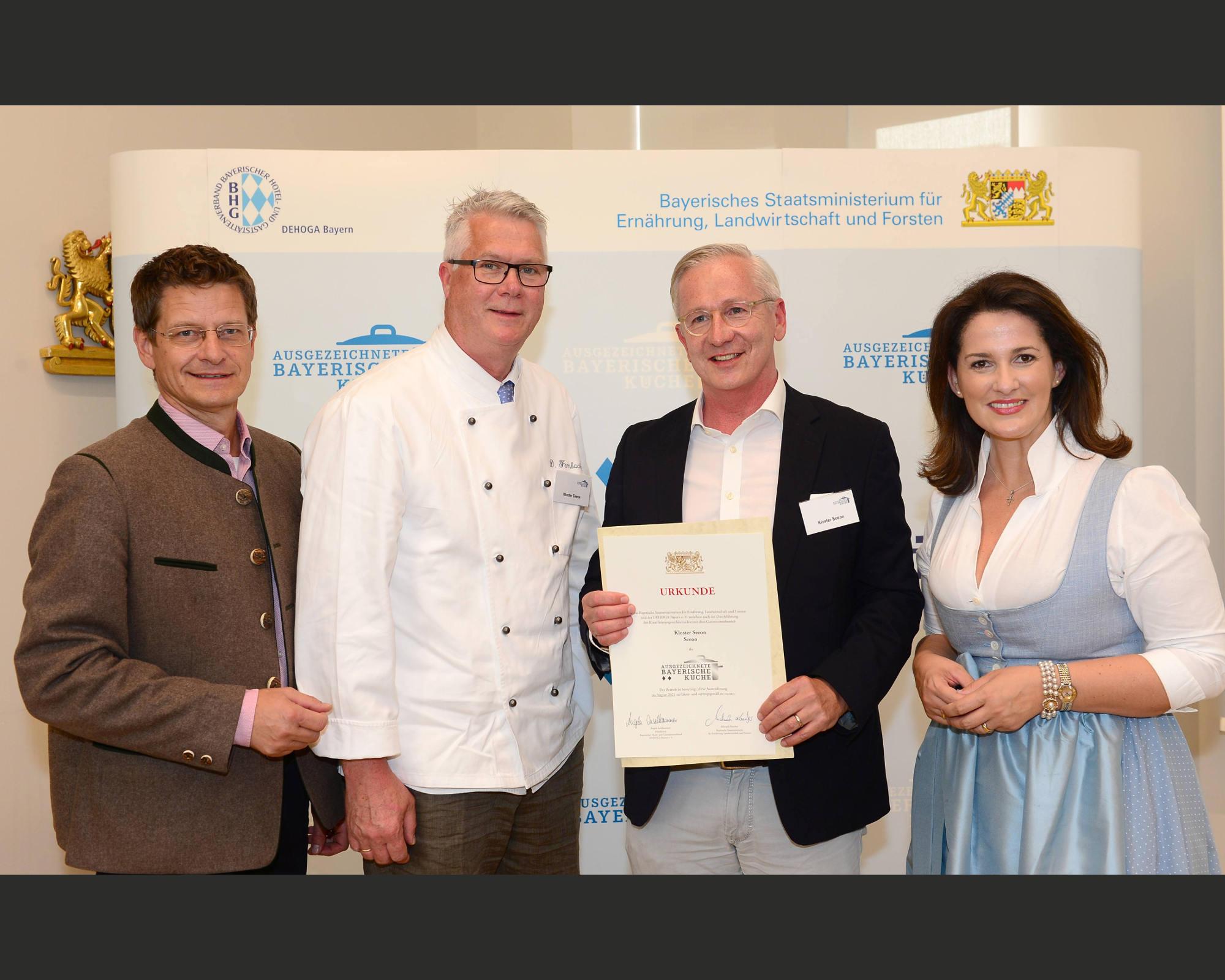 Abb. zu Artikel Ausgezeichnete Bayerische Küche