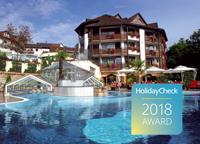 Abb. zu Artikel Romantischer Winkel erhält HolidayCheck Award 2018!