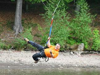 Abb. zu Artikel Event-Spaß von Wasser-Nordic-Walking bis Floßbau