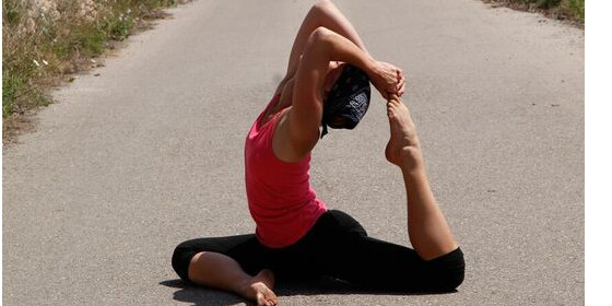 Abb. zu Yoga-Woche im Frühling