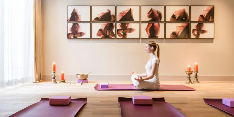 Abb. zu Yoga, Meditation und Sport