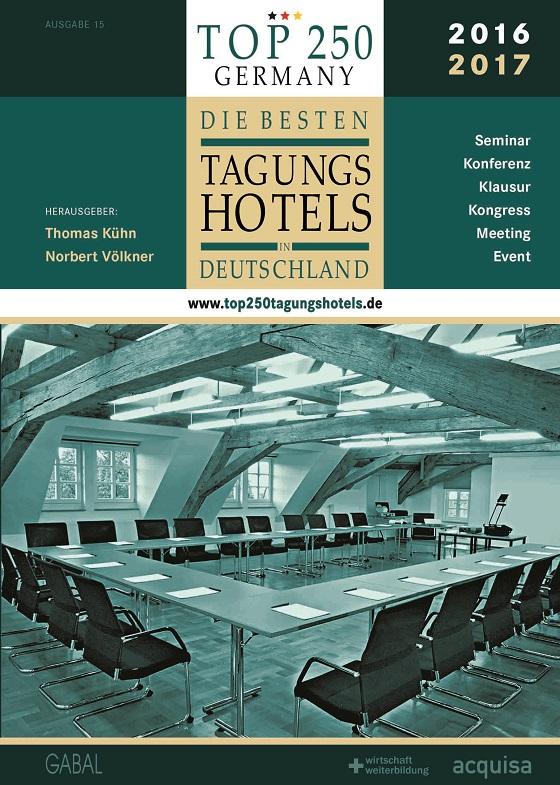 Abb. zu Artikel Gefragter denn je: die neue Buchausgabe Top250-Tagungshotels erschienen
