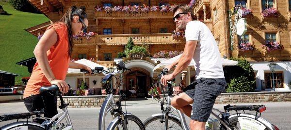 Abb. zu Berge, Bike und Wellness: Ein erholsames Aktivtrio