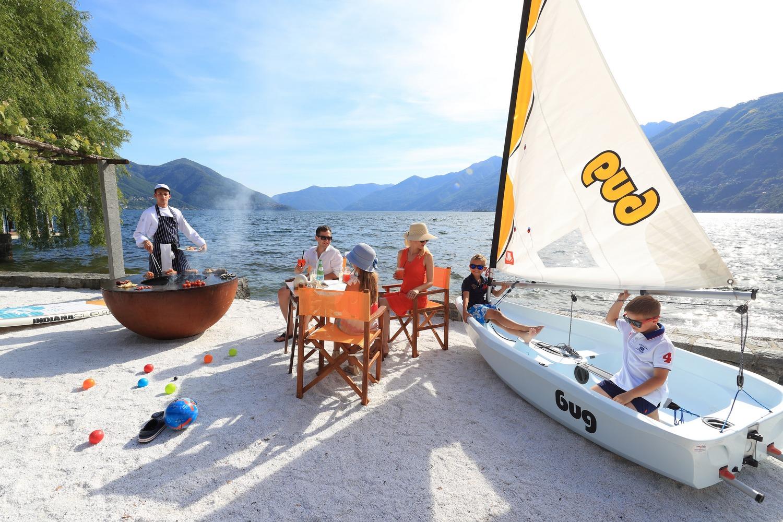 Abb. zu Strandfeeling am Lago Maggiore