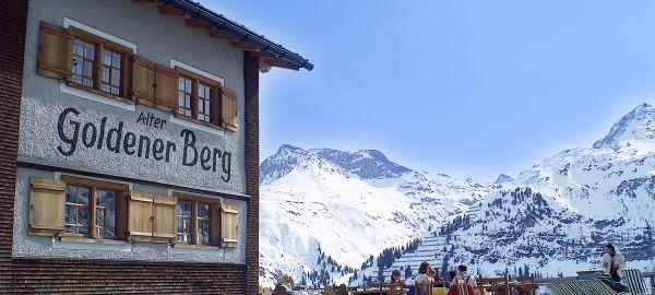 Abb. zu Der Arlberg – eines der größten und exklusivsten Wintersportgebiete der Alpen