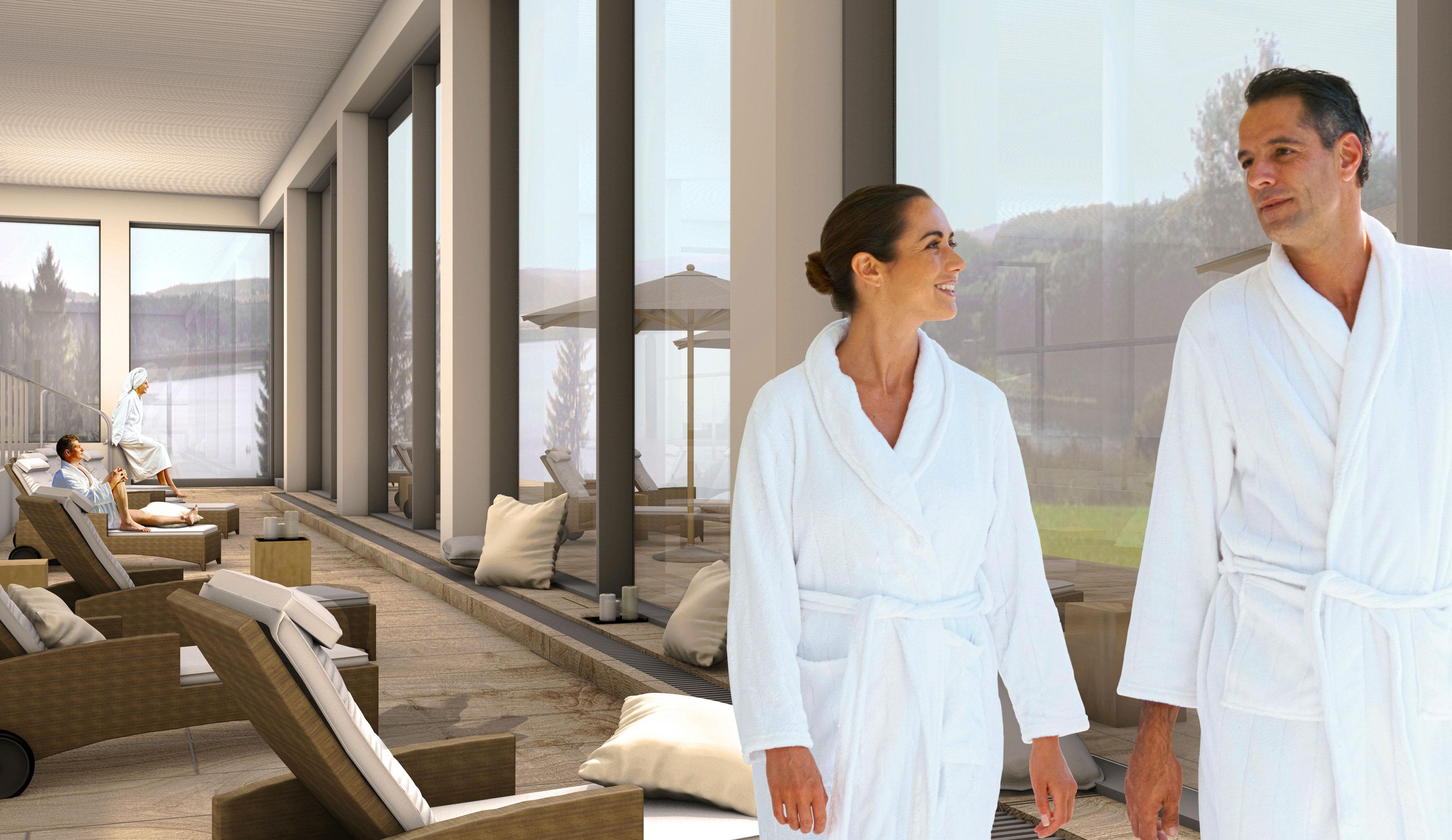 Abb. zu Neueröffnung des Panorama Spa im Bio-Seehotel Zeulenroda