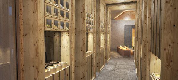 Abb. zu Neue alpine Saunawelt hoch über dem Vinschgau