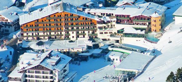 Abb. zu Obergurgl gilt als das schneesicherste Skigebiet der Alpen