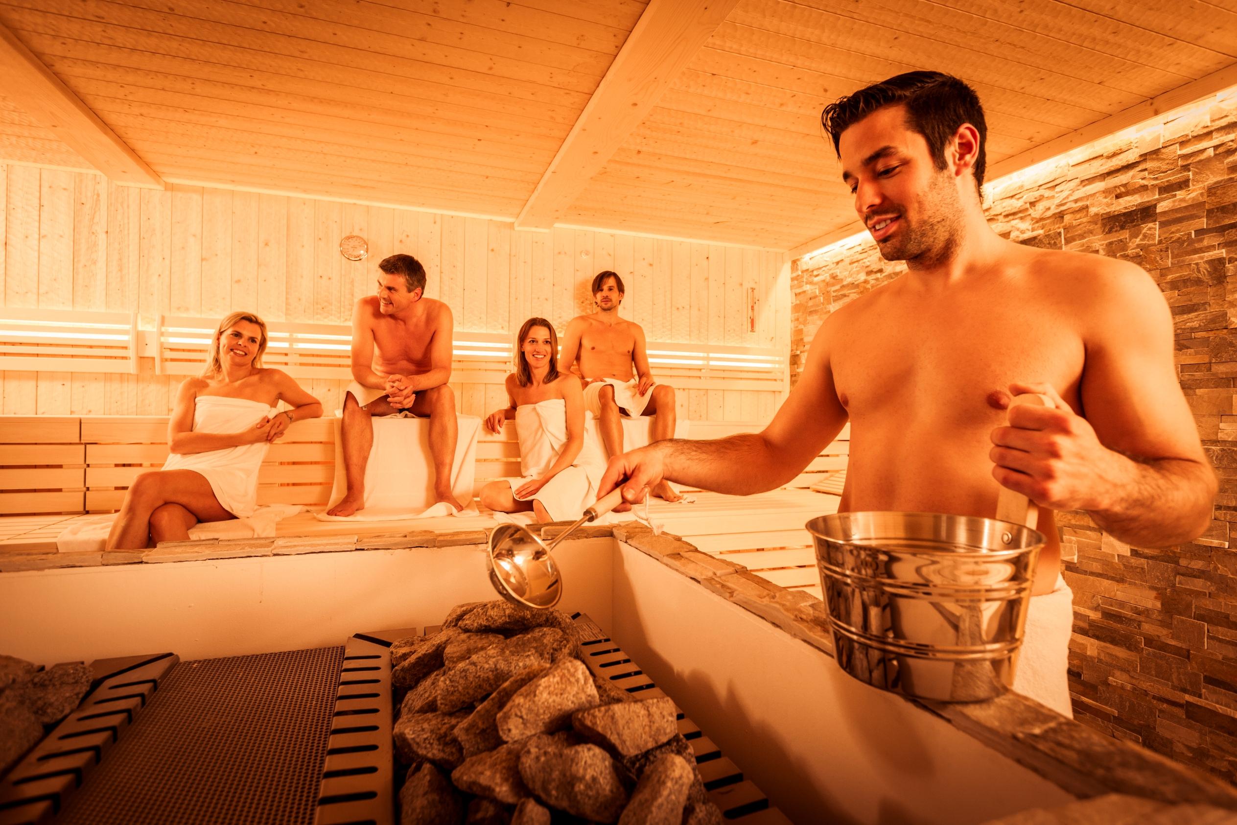 Abb. zu Sieben Tipps für's richtige Saunieren