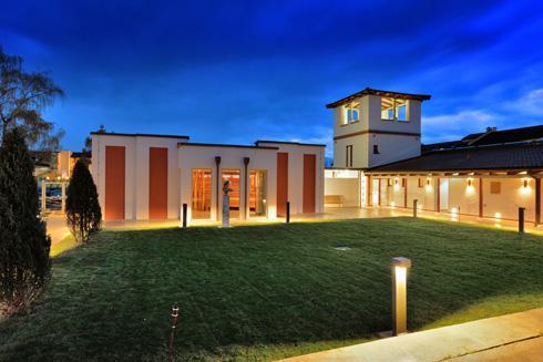 Abb. zu Neueröffnung der Römer-Sauna in Bad Gögging