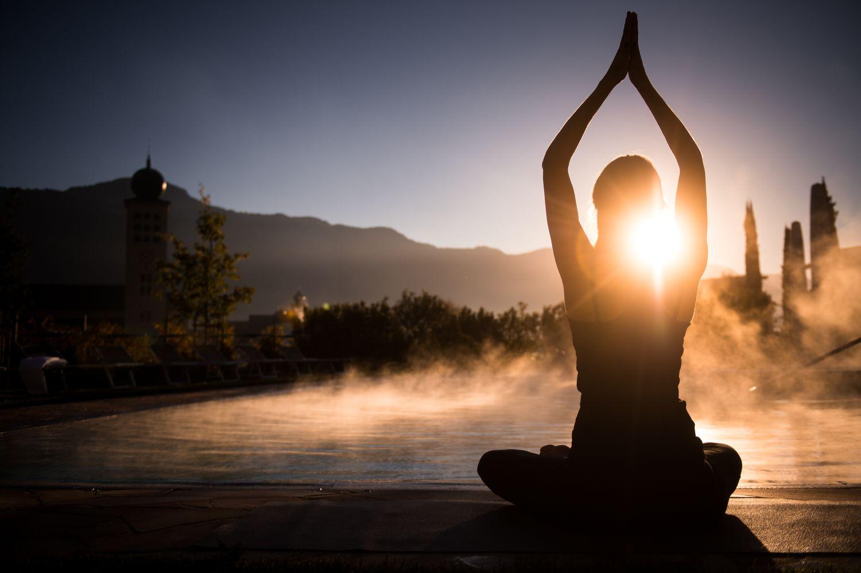 Abb. zu Yoga trifft Wandern