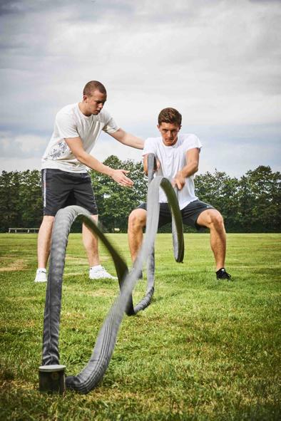 Abb. zu Fitnessstudio in der Natur