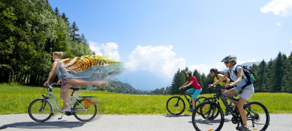 Abb. zu Keep on moving: Sportlich im Wander-Bike-Golfresort