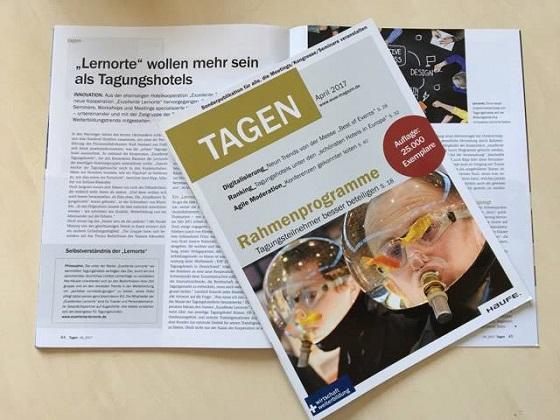 """Abb. zu Artikel Die neue Ausgabe """"Tagen"""" jetzt online entdecken"""