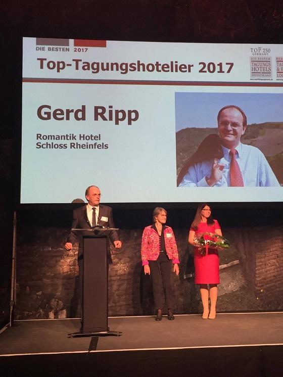 Abb. zu Artikel Gerd Ripp ist TOP-Tagungshotelier 2017