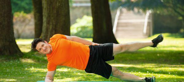 Abb. zu Fit, schlank und voll motiviert mit Olympiasieger Matthias Steiner
