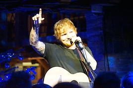 Abb. zu Ed Sheeran begeistert vom STOCK feeling