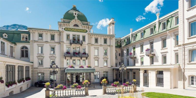 Abb. zu Grand Hotel Kronenhof bietet Mental Coaching Programm