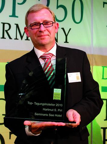 Abb. zu Artikel Hartmut S. Pirl ist TOP-Tagungshotelier 2010