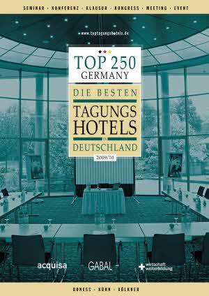 """Abb. zu Artikel Neue Ausgabe der """"Besten Tagungshotels in Deutschland"""" erschienen"""