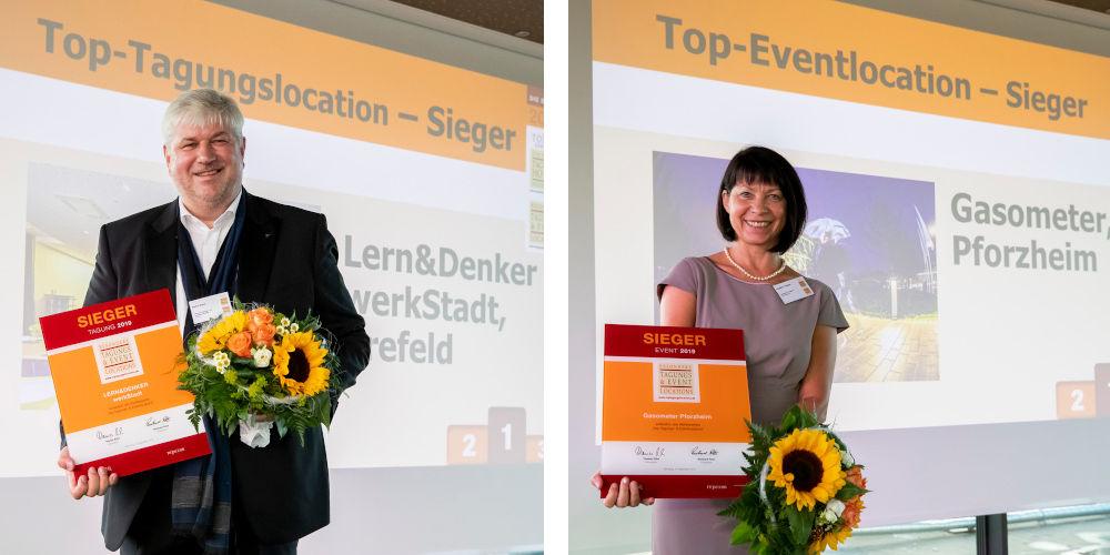 Abb. zu Artikel Die Siegertrophäen gehen nach Krefeld und Pforzheim