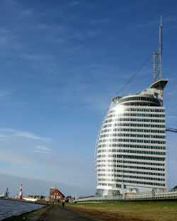 Abb. zu Artikel ATLANTIC Hotel SAIL City in Bremerhavens Havenwelten eröffnet