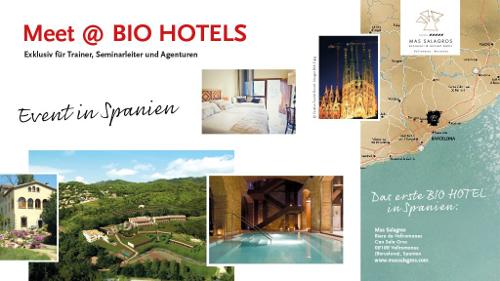 Abb. zu Artikel BIO HOTELS: Exklusives Event für Trainer und Veranstalter
